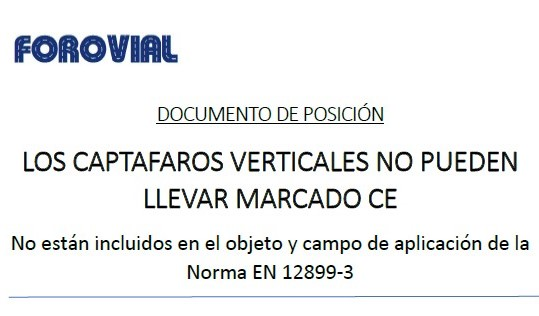 Documento Marcado CE captafaros